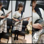 艶サラ❗いつも綺麗なギタリスト?【平川さん】の髪