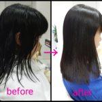 艶髪矯正ストレート‼この春、 JSからJCへロングヘアな【あいりちゃん】の髪