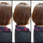 艶髪矯正ストレート(ストパン)‼ボブへ伸ばし中な【Kさま】の髪