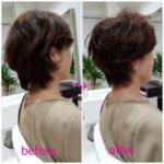 ショートヘア❗【Sさま】の髪