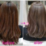 オイルカラーとセラック処理で艶々‼【aoiさん】の髪