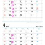 3月・4月の営業案内
