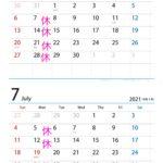 6月・7月の営業案内