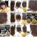 前髪ストレート&デジタルパーマな【nami ちゃん】